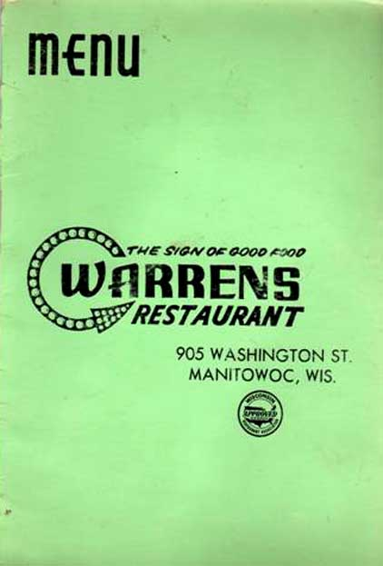 Old Lunch Counters Restaurants Manitowoc Tavern History